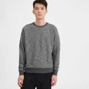 Everlane The Crew Sweatshirt Size Large Grey M